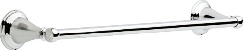 Delta Faucet 70018 Windemere 18'' Towel Bar, Polished Chrome by DELTA FAUCET