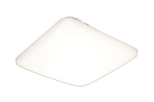 Lithonia Lighting FMLSL 14 20830 M4 14-Inch 3000K LED Low Profile Square Flush - Profile Lights Fluorescent Low
