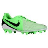 Nike Men's CTR360 TREQUARTISTA III FG Soccer Shoes 8 Men US (Fresh Mint/Black/NEO Lime) (Soccer Cleats Ctr)