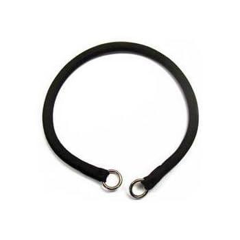 "Coastal -Round Nylon Choke Collar in Black 22"", Width: 3/8"""