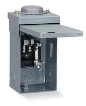 Square D Main Lug Load Center 100 Amp 8 Space Boxed