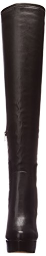 Synthetic Chinese Luster Black Laundry Over Women's Knee The Boots p44PtTwqx