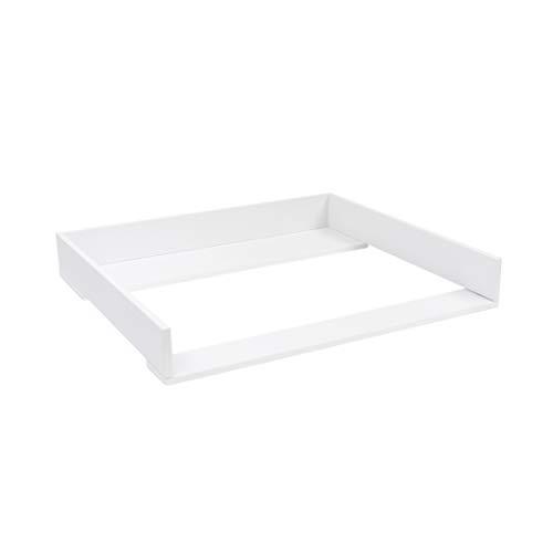 Trennfach f/ür IKEA Malm Kommode wei/ß Puckdaddy WickelaufsatzBasic 80cm Breite