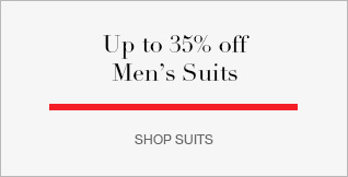 Up to 35% off Mens Suits