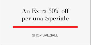 An Extra 30% off Speziale