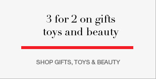 Shop gifts, toys and beauty