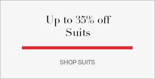 Up to 35% off Suits