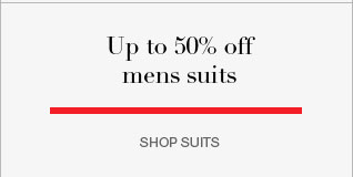 up to 50% off mens suits
