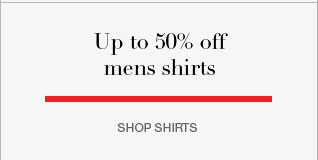 up to 50% off mens shirts