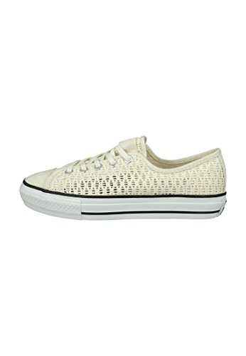 Toile CONVERSE All Star B Crochet Ecru H21kU