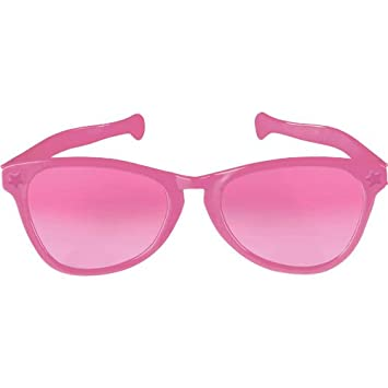 Pink Jumbo Sunglasses by Amscan