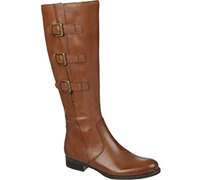 Womens Boots Naturalizer Jewels Wide Calf Banana Bread