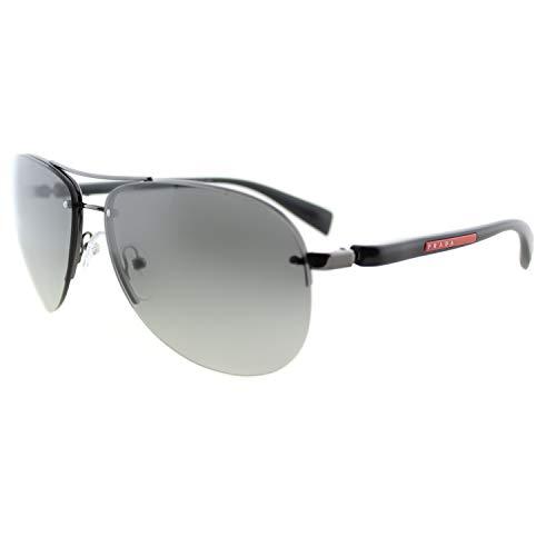 Prada Sport PS56MS 5AV3M1 Gunmetal PS56MS Pilot Sunglasses Lens Category 2 ()