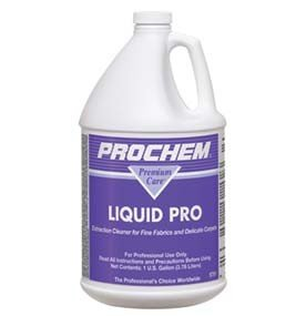 Prochem - Liquid Pro - Fine Fabric and Carpet Detergent Extraction Cleaner - Concentrate - 1 Gallon S781