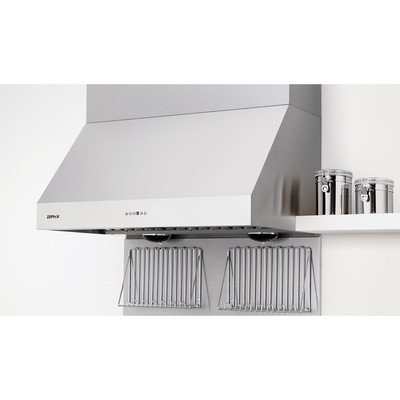 Zephyr AK7536BS Pro-Style Wall Mount Canopy Hood, Stainless Steel (Style Pro Wall Mount)