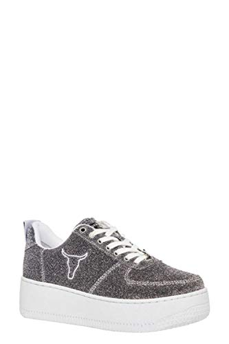 Donna Windsor Smith Racerrlxsil Sneakers Argento Tessuto 66wE1Aq