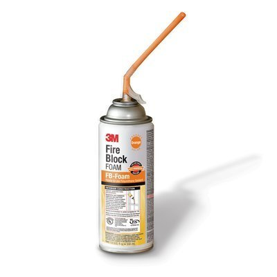 - 3M(TM) Fire Block Foam FB-Foam, Orange, 12 fl oz., Aerosol Can, 12/case You are purchasing the Min order quantity which is 12 CAN
