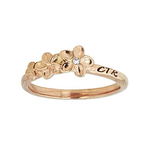 LDS Plumeria CTR Ring (8)