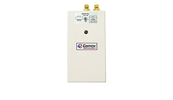Eemax - Single Point 5.5 kW 240-Volt 0.5gpm-2.0gpm Electric Tankless Water Heater - - Calentadores De Agua - Amazon.com