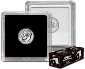 2×2 Coin Snap Holder (Dime) pack of 25