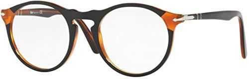 Persol PO3201V Eyeglasses 1096 Black Havana w/ Demo Lens 51mm