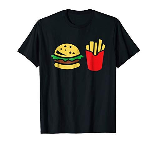 Hamburger Fries Combo Funny Halloween T-Shirt Gift]()