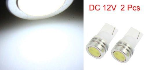 Amazon.com: eDealMax T10 2821 lámpara LED Blanca coches Auto Insturment luz Junta 12V 1W 2 piezas: Automotive