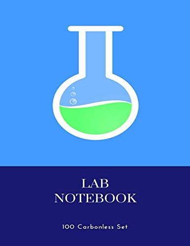 Lab Notebook 100 Carbonless Set: chemistry students 100 duplicate page sets -