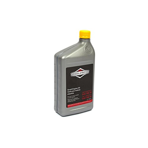 Briggs & Stratton SAE 5W-30 Synthetic Small Engine Motor Oil - 32 Oz. (Snow Blower Oil)