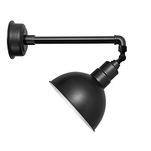 gn Light in Matte Black (Metropolitan) (Metropolitan Round Sconce)