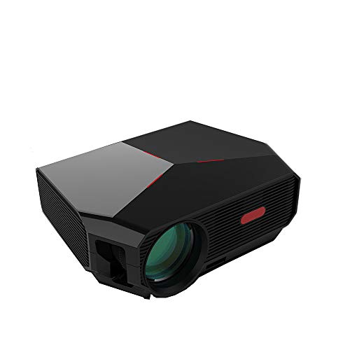 Projector, XINDA HD Video Projector 3800L Outdoor Movie Projector, 200″ Home Theater Projector Support 1080P, Compatible with Fire TV Stick, PS4, HDMI, VGA, AV and USB …