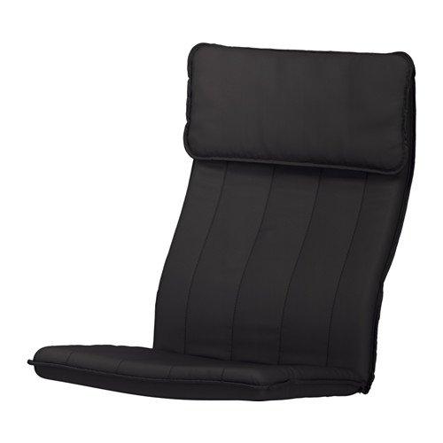 POÄNG Chair cushion, Ransta black