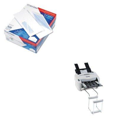 KITPREP7200QUACO175 - Value Kit - Columbian Poly-Klear Insurance Form Envelopes (QUACO175) and Martin Yale Model P7200 RapidFold Light-Duty Desktop AutoFolder (PREP7200)