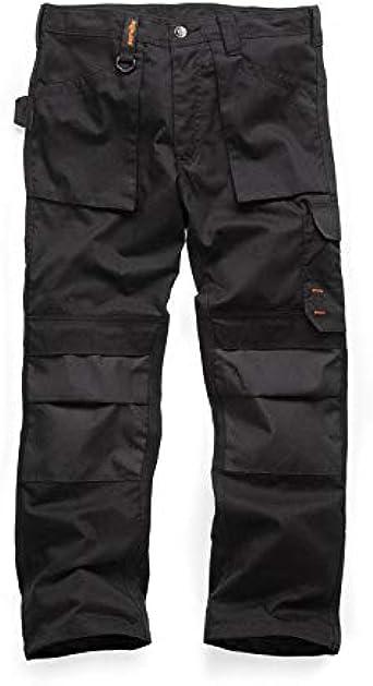 Scruffs Worker Pantalones De Trabajo Negro Black 001 Talla Del Fabricante 34 Para Hombre Amazon Es Ropa Y Accesorios