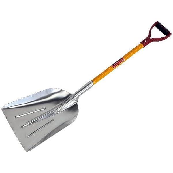 Draper 19177 Rubble and Debris//Multi-Purpose ABS Shovel with Hardwood Shaft