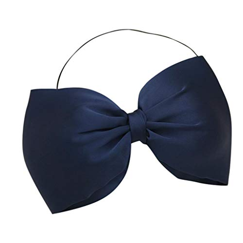 UCQueen Big Bow Headwraps for Baby Girls Kids Infant Oversized Bow Cute Hairband Boutique Elastic Headwear]()