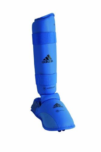 adidas 661 . 35 Unisex - Protector de pies de artes marciales Azul (Blue)