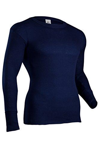 hot sell Indera Men's Polypropylene Performance Rib Knit Thermal Underwear Top