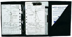 Jeppesen IFR Three-Ring Trifold Kneeboard JS626010 from Jeppesen