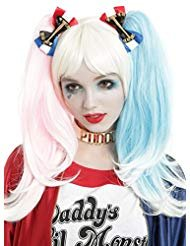 DC Comics Suicide Squad Harley Quinn Hair -