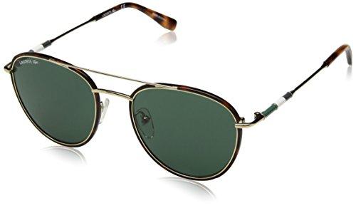 Lacoste Men's L102snd Metal Oval Novak Djokovic Capsule Collection Sunglasses, Golden Beauty, 51 ()