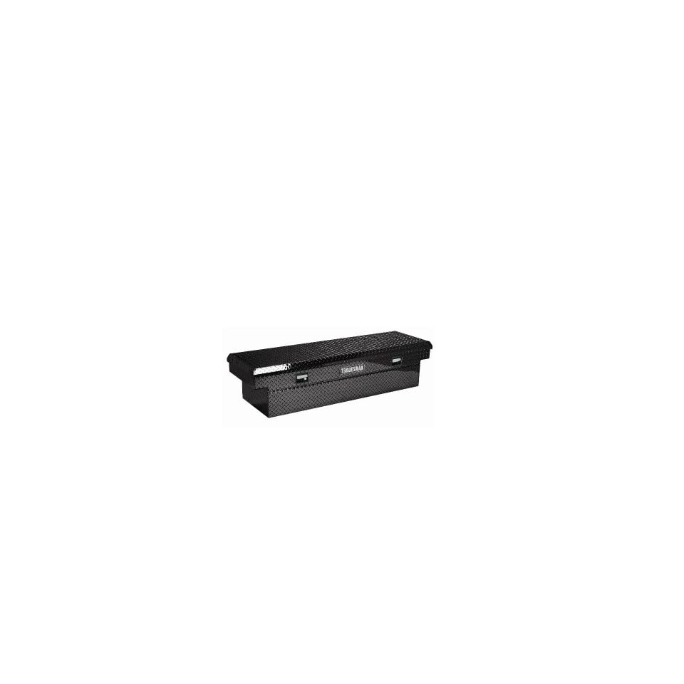 Tradesman TALF1670LPBK Black 70 Long x 16 Wide Aluminum Full Size Low Profile Cross Bed Truck Tool Box