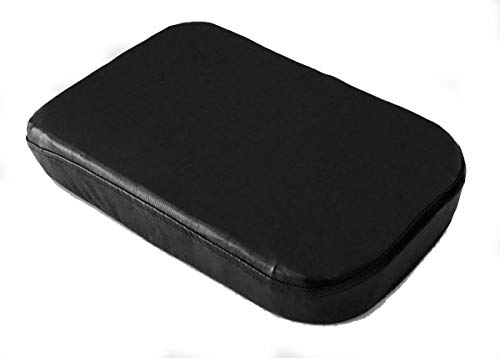 Avalon Console - Car Console Covers Plus Made in USA Faux Leather Center Armrest Console Cover fits Toyota Avalon 2006-2014 Models Black
