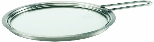 Eva Trio - Eva Trio Stainless Steel and Glass Lid with Long Handle, 16 cm