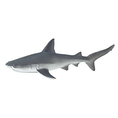 Safari Ltd. Sea Life - Gray Reef Shark - Phthalate, Lead and BPA Free - For Ages 3+