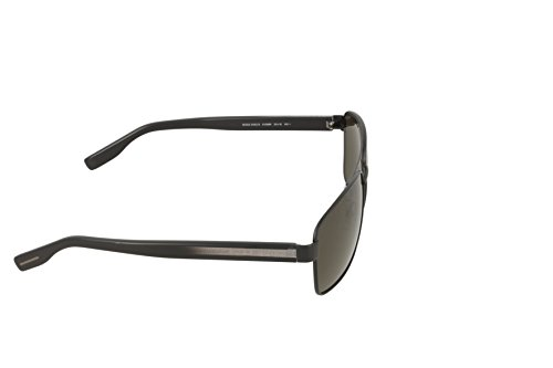 5be3fea6e05204 ... Hugo Boss Lunettes de soleil 0592 Pour Homme Dark Ruthenium   Black    Brown Gradient Mtbk