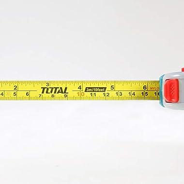 MR LIGHT TOTAL Iron Steel Measuring Tape, 3 m x 16 mm, Multicolour 11