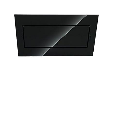 Falmec Cappa Cucina Design Quasar Parete 80 cm Vetro Nero: Amazon.it ...