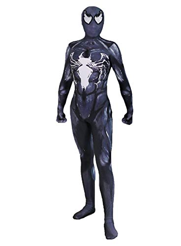 Lycra Spandex Unisex Spider - Alwoe Lycra Spandex Unisex 3D Style One-Piece Body Tight Halloween Cosplay Halloween Clothing