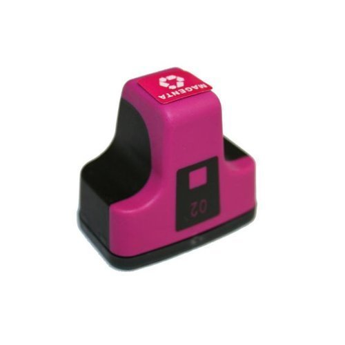HI-VISION HI-YIELDS ® Compatible Ink Cartridge Replacement for HP 02 (Magenta)